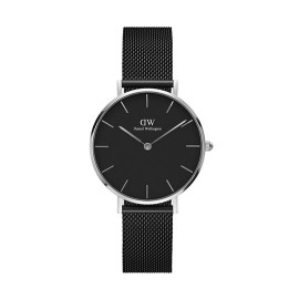 Daniel Wellington Classic Petite Ashfield Black stál 32 mm
